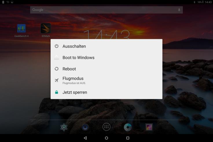 Chuwi Hi10 Android Screenshot