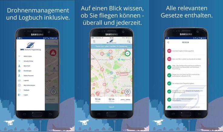 DFS Flugverbotszonen App