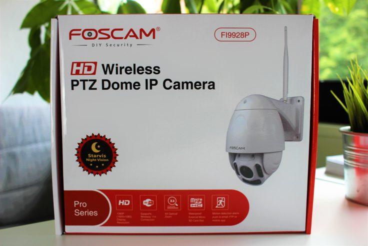 Foscam FI9928P Verpackung