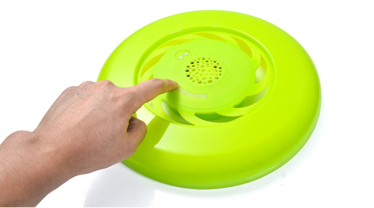 Grüne Bluetooth Frisbee LED