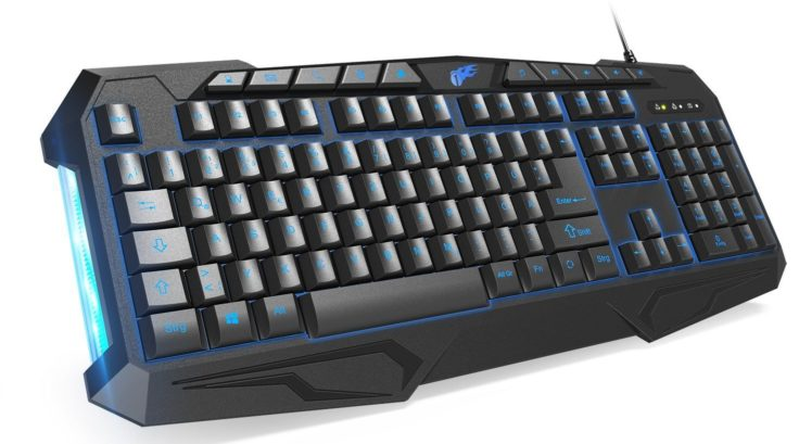 Gaming Tastatur von 1byone in blau
