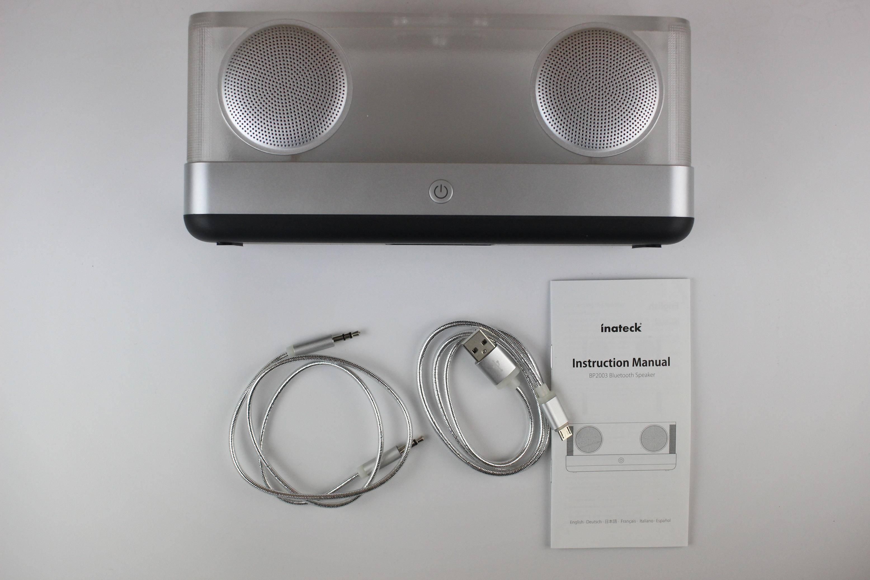 inateck bp2003 speaker im test ungew hnliches design und satter bass. Black Bedroom Furniture Sets. Home Design Ideas