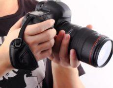 Kamera Handschlaufe aus Leder