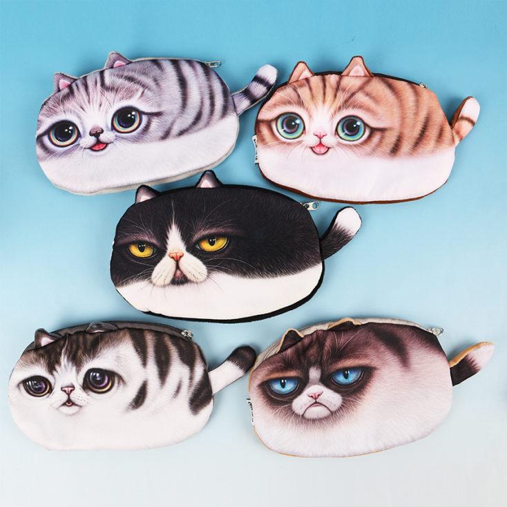 Das Katzenetui in 5 verschiedenen Ausführungen