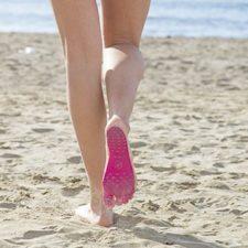 Klebesohlen Strand