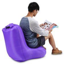 Luft-Stuhl Violett