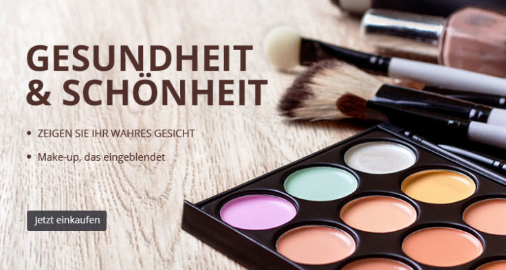 Make-Up Werbefail