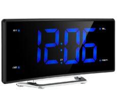 Radiowecker mit Projektionsfunktion und blauer LED Anzeige