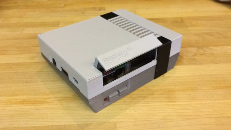 Retro Konsole Raspberry Pi 3D Drucker
