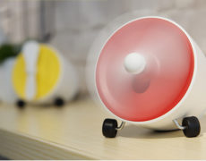 Mini Bluetooth Lautsprecher mit Ventilator