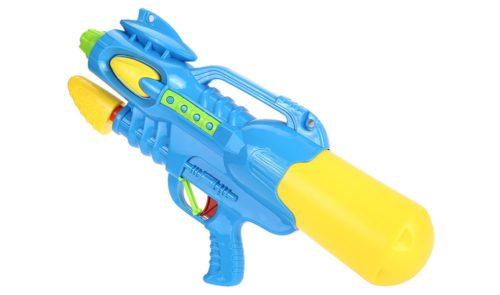 Blau gelbe Wasserpistole für Kinder