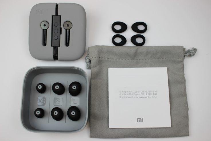 Xiaomi ANC In-Ears Lieferumfang