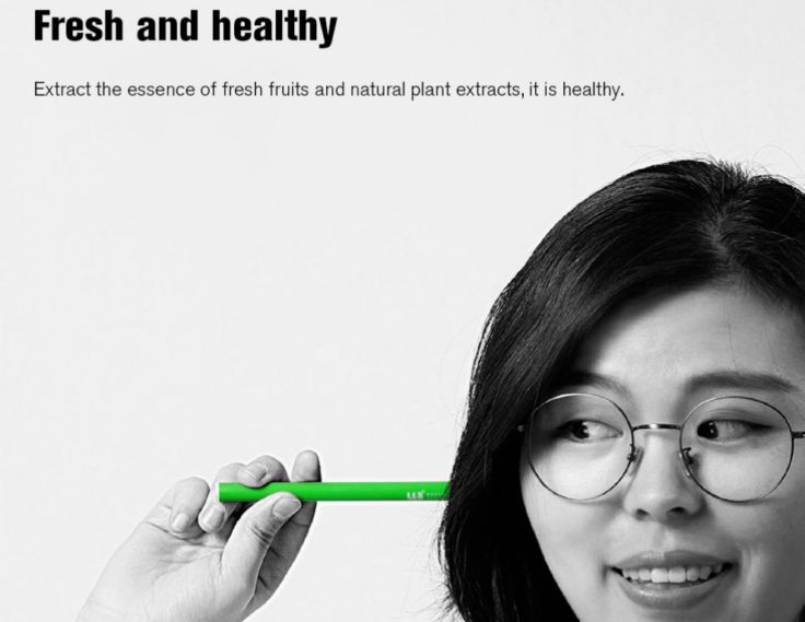 Xiaomi E-Zigarette Werbung
