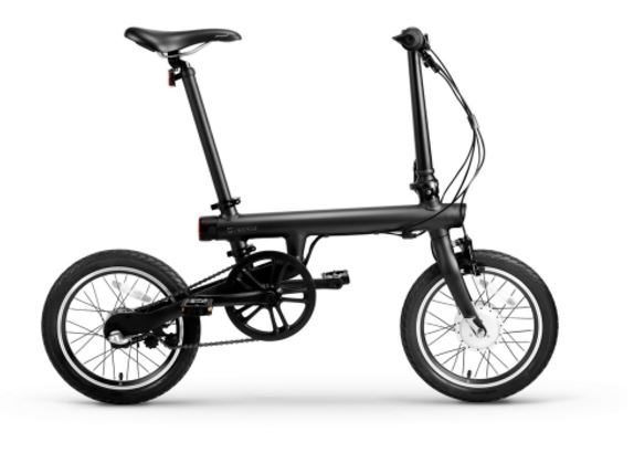Xiaomi Mi Home Qicycle Elektrofahrrad Seitenansicht