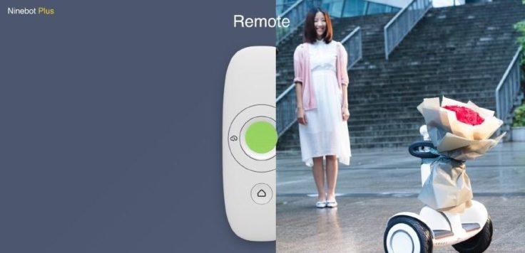 Xiaomi Ninebot Plus mit Fernbedienung