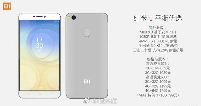 Xiaomi Redmi 5 Preise