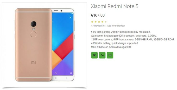 Xiaomi Remi Note 5 OppoMart