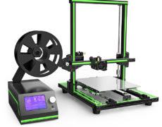 Anet E10 3D Drucker komplett aufgebaut von vorne