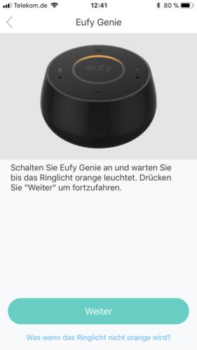 Anker Eufy Genie App