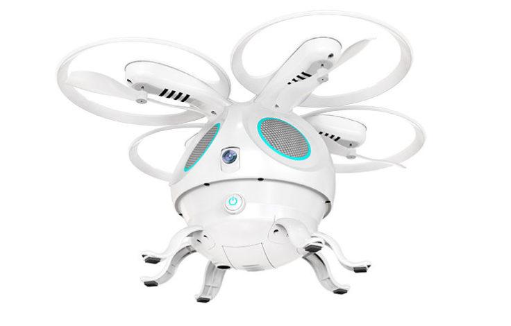 Flypro Tintenfisch Drohne weiß