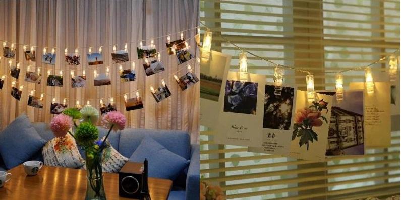 Foto lichterkette mit led batteriebetrieb dekoration - Lichterkette mit fotos ...