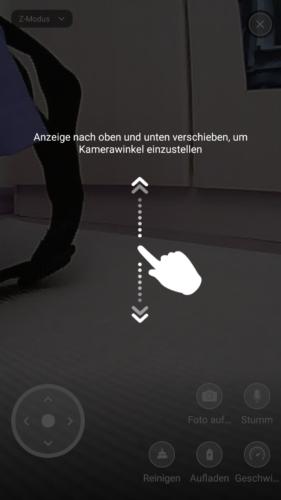 Haier XShuai Saugroboter App Kalibrierung
