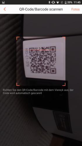 Haier XShuai Saugroboter App QR-Code