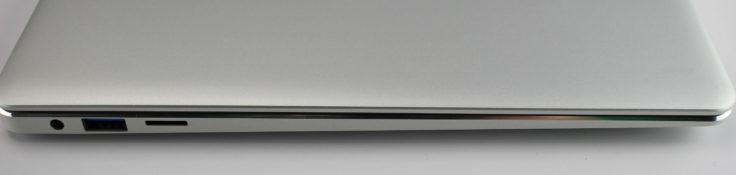 Jumper EZBook 3 Pro linke Anschlüsse
