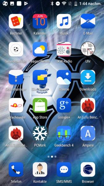 Leagoo T5 Betriebssystem