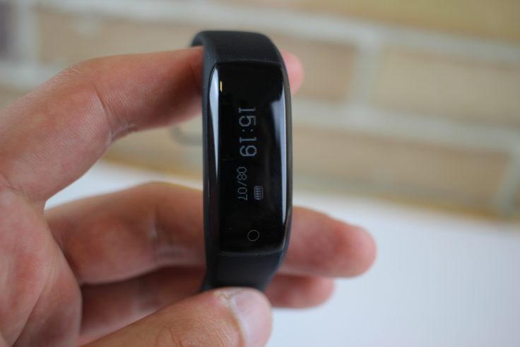 Lenovo HW01 Fitness Tracker Display