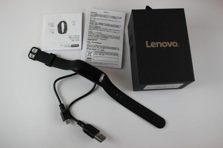 Lenovo HW01 Fitness Tracker Lieferumfang