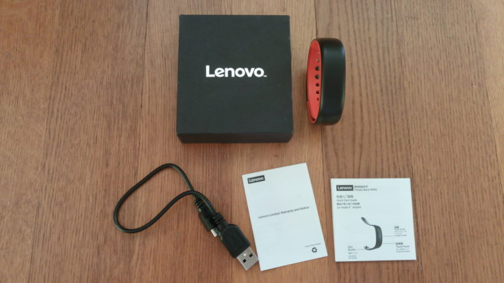 Lenovo HW02 Fitness Tracker Lieferumfang