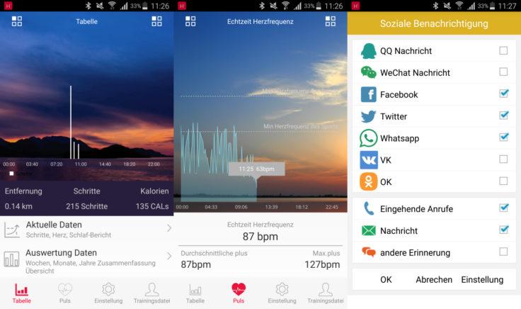 Makibes G03 Fitness Tracker App