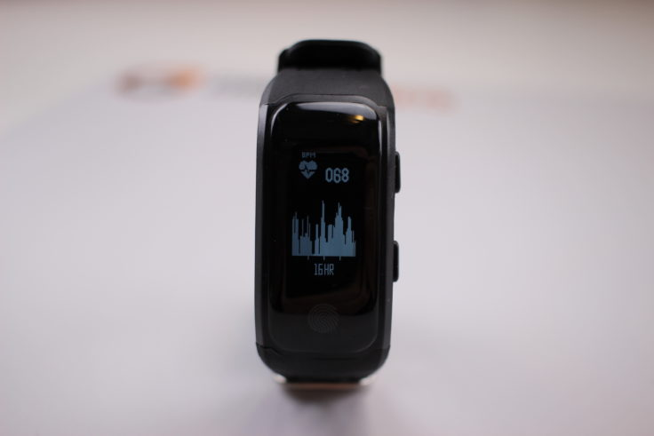 Makibes G03 Fitness Tracker Display