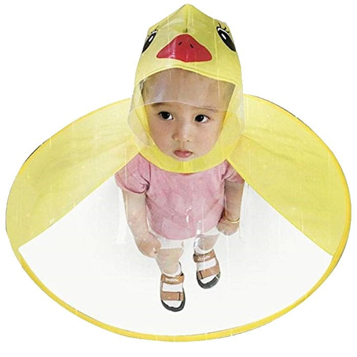 Regenschutzhaube Ente