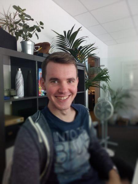 MEIIGOO M1 Bokeh Modus Blur Effekt