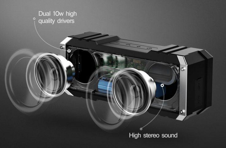 VTIN Bluetooth Lautsprecher Treiber