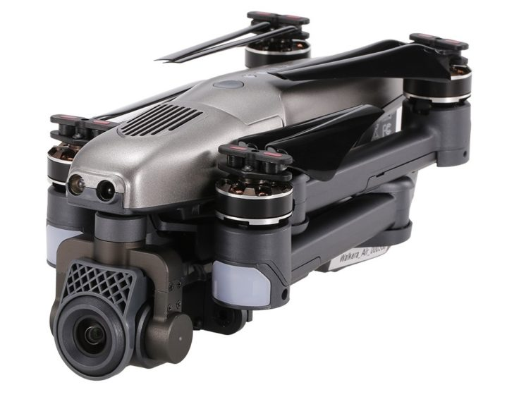 Walkera Vitus 320 Kamera Drohne eingeklappt