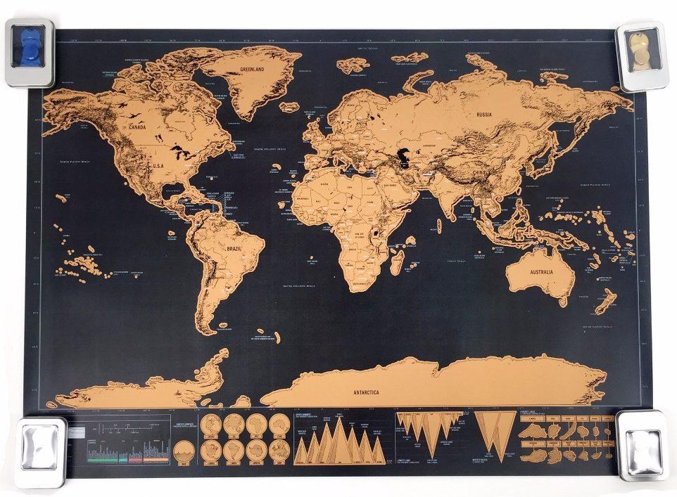 Fur Reise Junkies Die Weltkarte Zum Freirubbeln