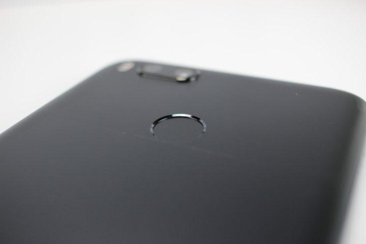 Xiaomi Mi 5X Fingerabdrucksensor