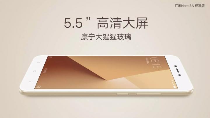 Xiaomi Redmi Note 5A Größe
