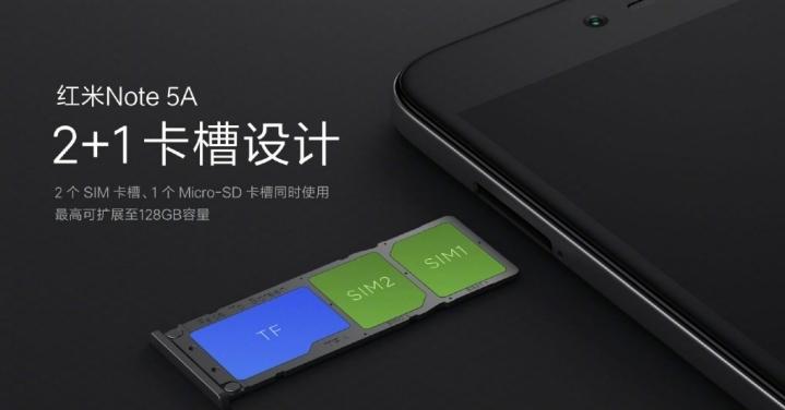 Xiaomi Redmi Note 5A Dual-SIM