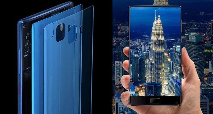 Elephone S8 Gehäuse und Display