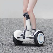 Xiaomi Ninebot Scooter in Benutzung