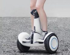 Xiaomi Ninebot Scooter in Benutzung