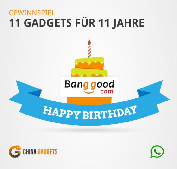 Banggood Gewinnspiel Whatsapp