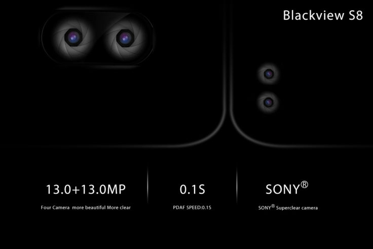 Blackview S8 Smartphone Kameras
