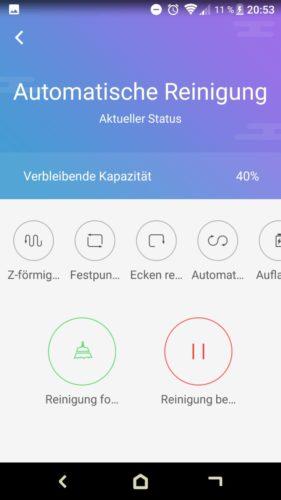 Haier XShuai T370 Saugroboter App Automatische Reinigung