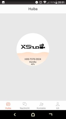 Haier XShuai T370 Saugroboter App Kopplung
