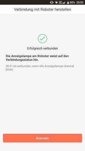 Haier XShuai T370 Saugroboter App Verbindung